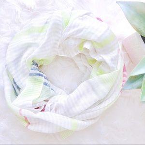 🔴2/$12 3/$17🔴 Charming Charlie Stripe Scarf